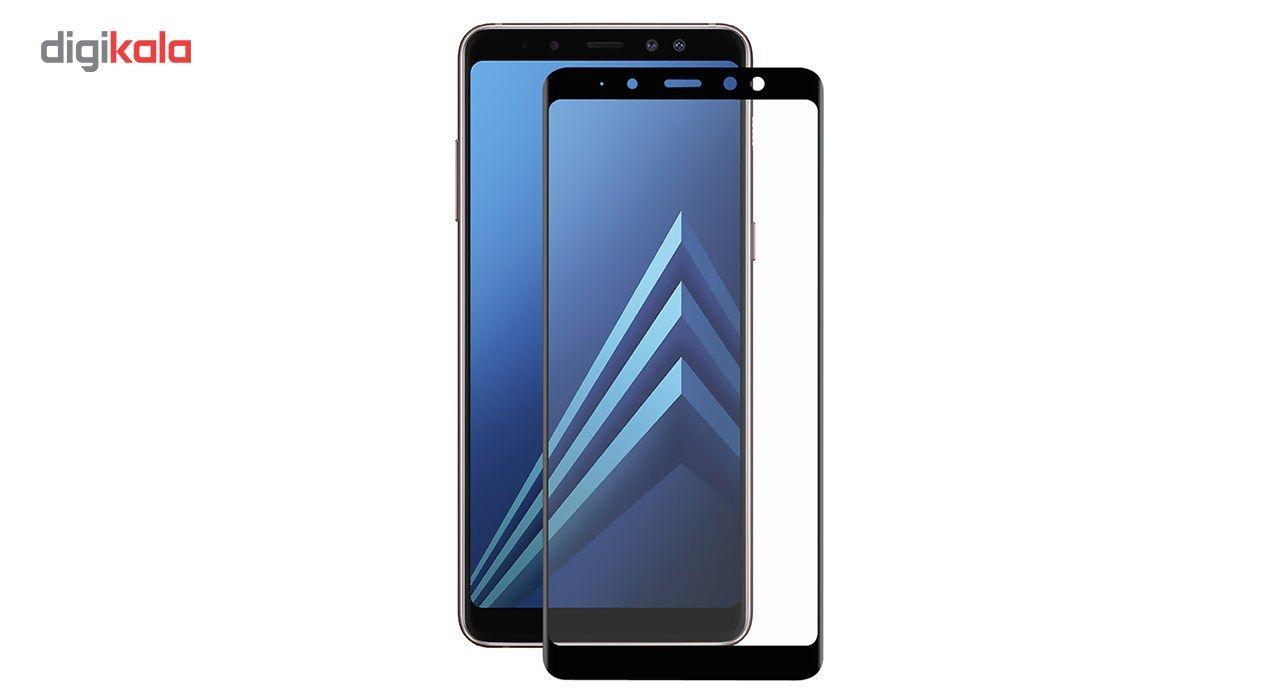 محافظ صفحه نمایش تمپرد مدل فول چسب مناسب برای گوشی موبایل سامسونگ Galaxy A8 Plus 2018 main 1 1