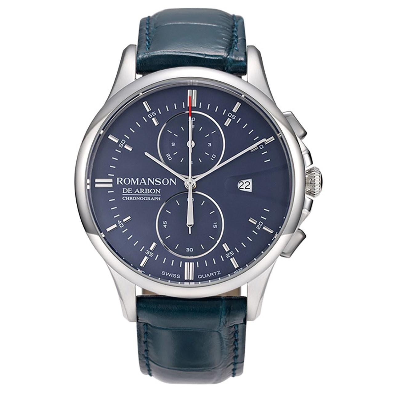 قیمت و خرید                      ساعت مچی عقربه ای مردانه رومانسون مدل CB5A09HMUWA4R5