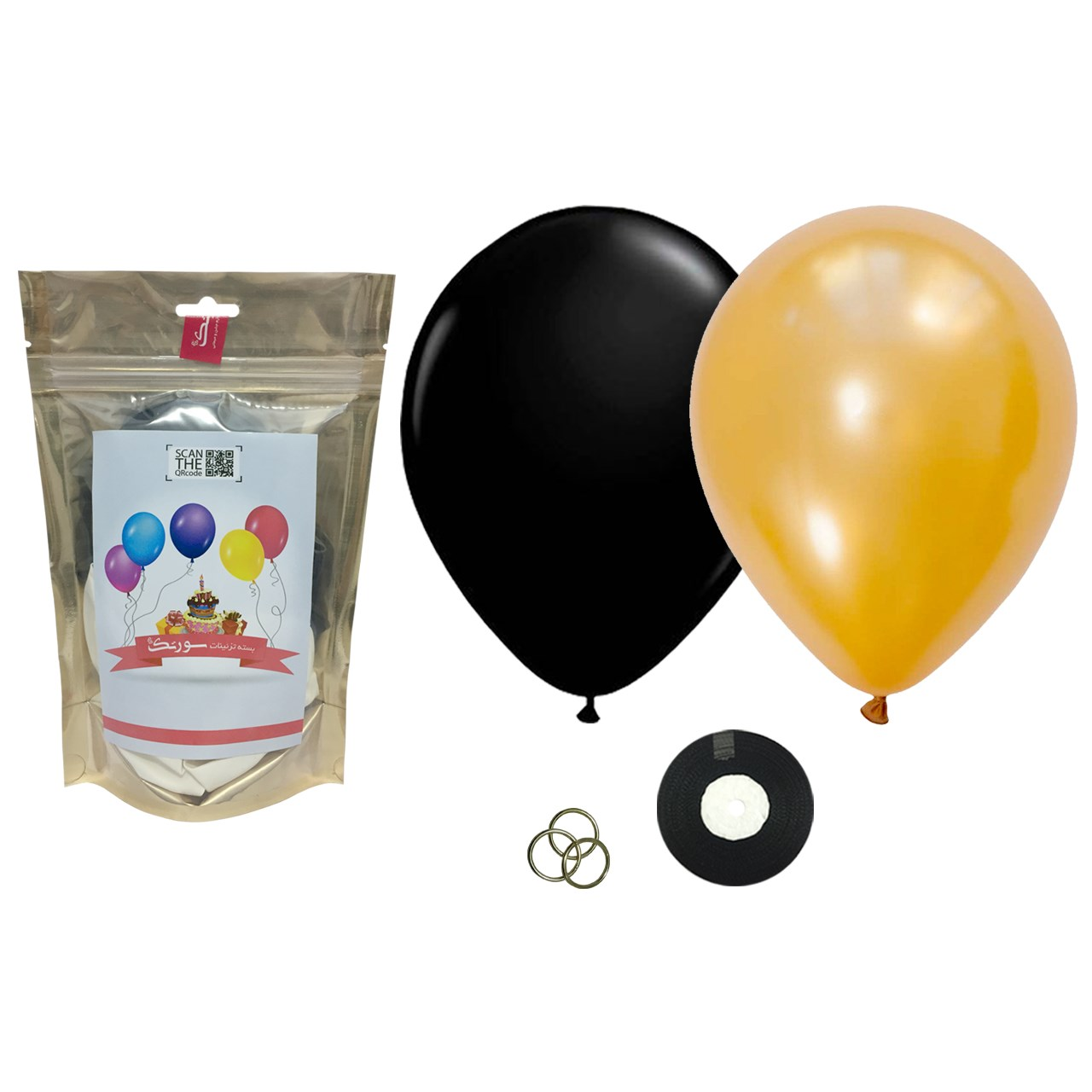 عکس پک بادکنک آرایی Helium Quality سورتک مدل STLH-06
