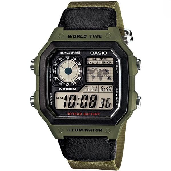 ساعت مچی دیجیتال کاسیو AE-1200WHB-3BVDF 20