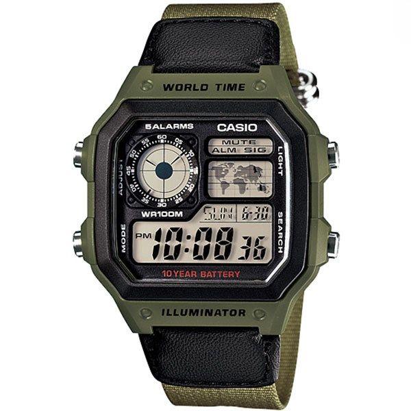 ساعت مچی دیجیتال کاسیو AE-1200WHB-3BVDF