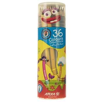 مداد رنگی 36 رنگ آریا مدل 3053