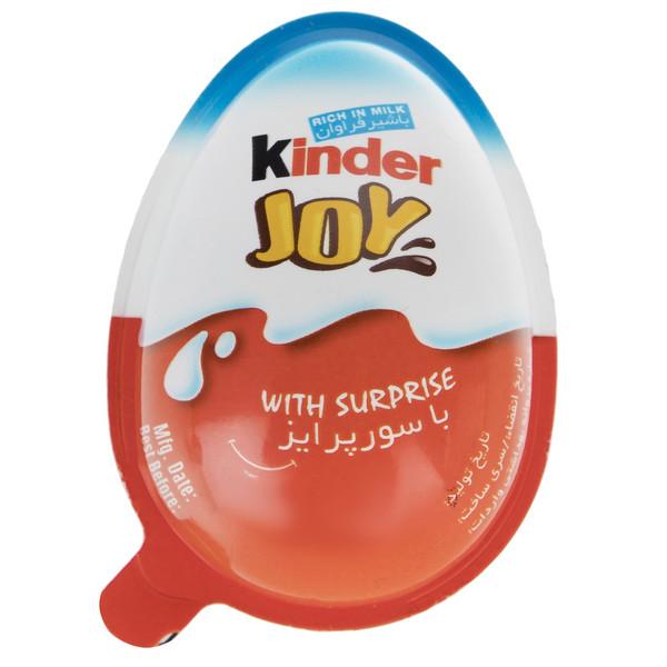 تخم مرغ شانسی کیندر جوی مدل Blue مقدار 20 گرم
