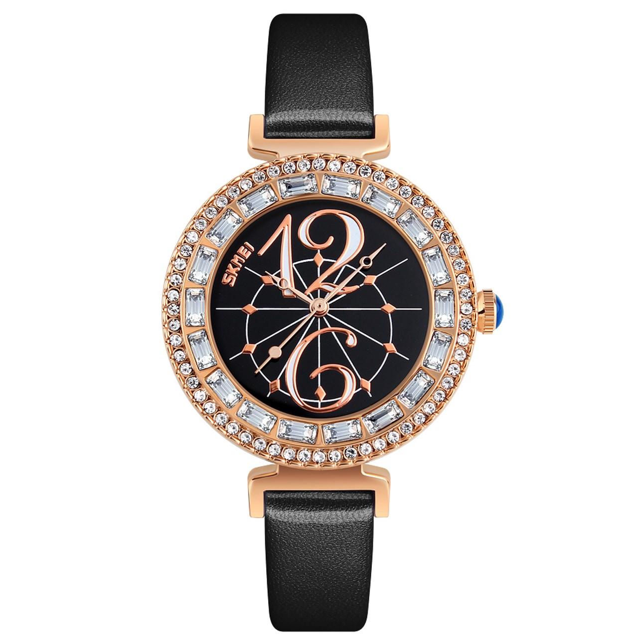 ساعت مچی عقربه ای  زنانه اسکمی مدل9158 کد 04