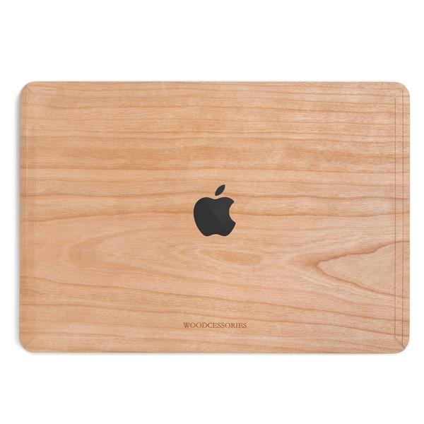 کاور چوبی وودسسوریز مدل Apple Logo مناسب برای مک بوک پرو/پرو تاچ بار 13 اینچی 2016