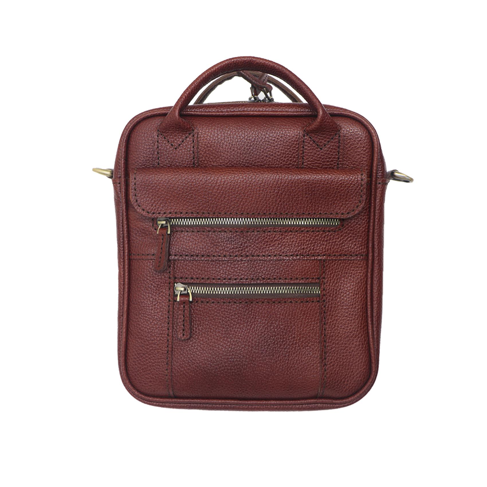 کیف چرمی مدل دانشجویی کد 601