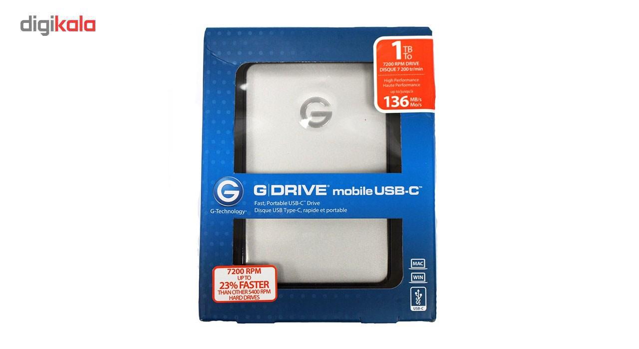 هارد دیسک اکسترنال جی درایو مدل USB-C ظرفیت 1 ترابایت