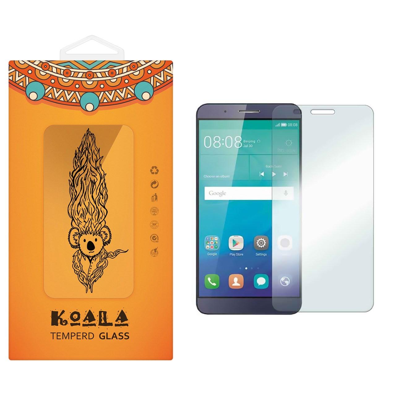 محافظ صفحه نمایش شیشه ای کوالا مدل Tempered مناسب برای گوشی موبایل هوآوی Honor 7i/ Shotx
