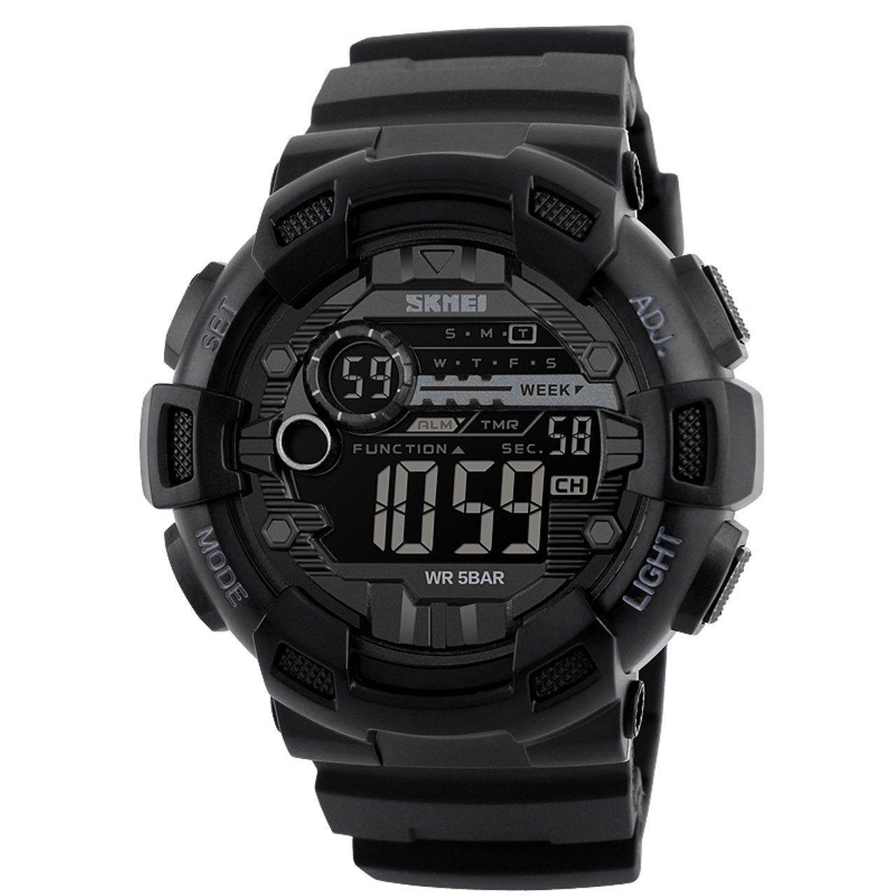 ساعت مچی دیجیتالی مردانه اسکمی مدل 1243 -  - 2