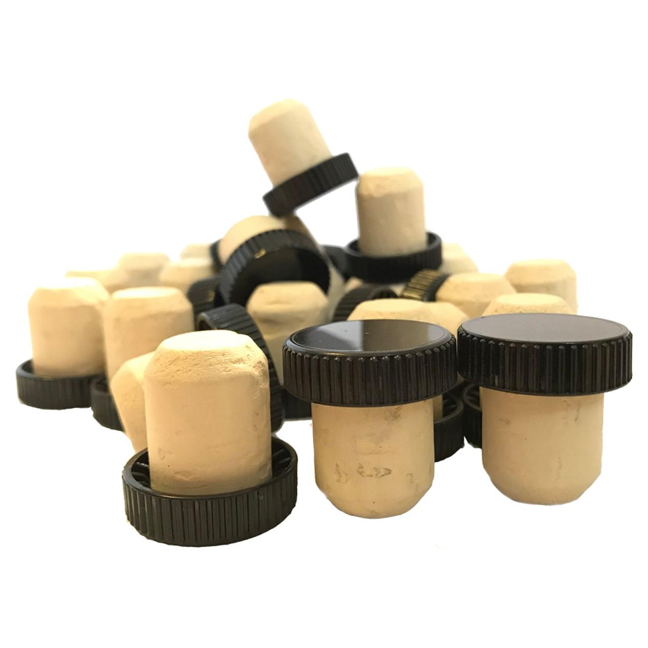سرپوش پلاستیکی بطری چوب پنبه مدل 19 - بسته 50 عددی
