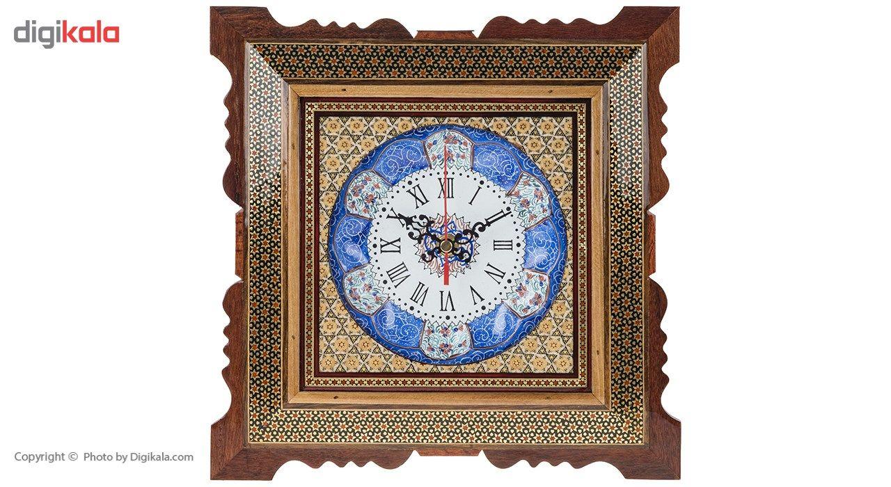ساعت دیواری خاتم اثر کروبی کد 20