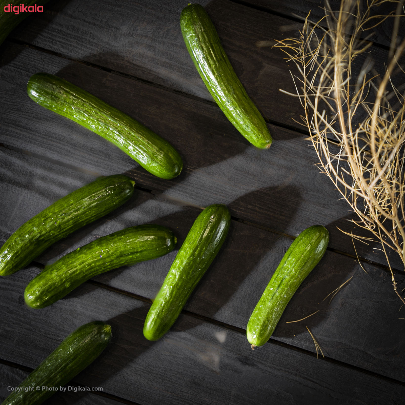 خیار گلخانه ای میوه پلاس - 1 کیلوگرم main 1 3