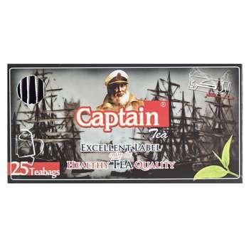 چای کاپیتان تی بگ عطری پاکتدار 25 عددی