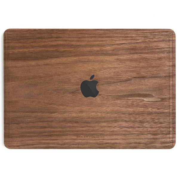 کاور چوبی وودسسوریز مدل Apple Logo مناسب برای مک بوک پرو تاچ بار 15 اینچی 2016