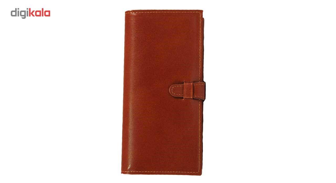 کیف پول چرم طبیعی زانکو چرم مدل مدیرانM2 main 1 2