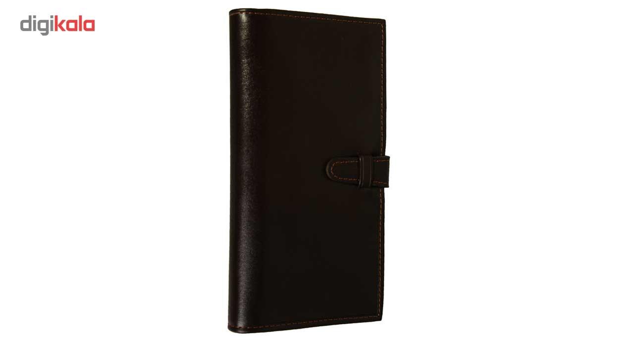 کیف پول چرم طبیعی زانکو چرم مدل مدیرانM2 main 1 3