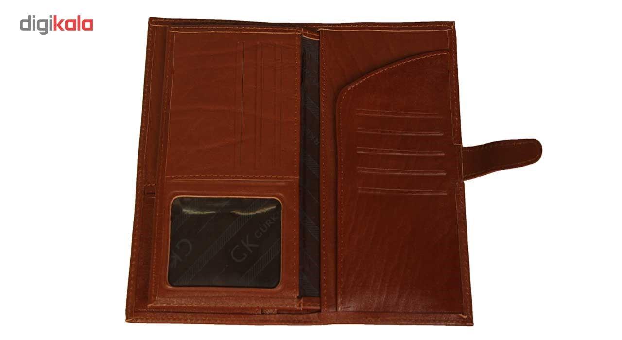 کیف پول چرم طبیعی زانکو چرم مدل مدیرانM2 main 1 5