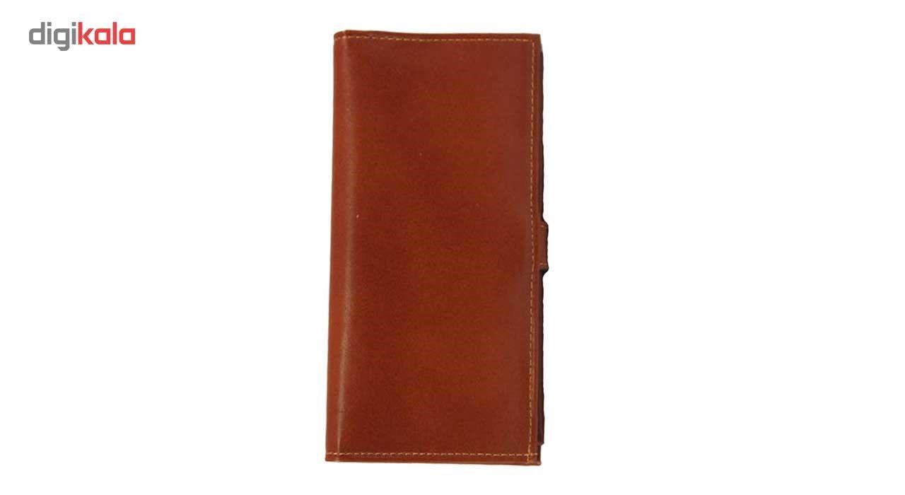کیف پول چرم طبیعی زانکو چرم مدل مدیرانM2 main 1 6