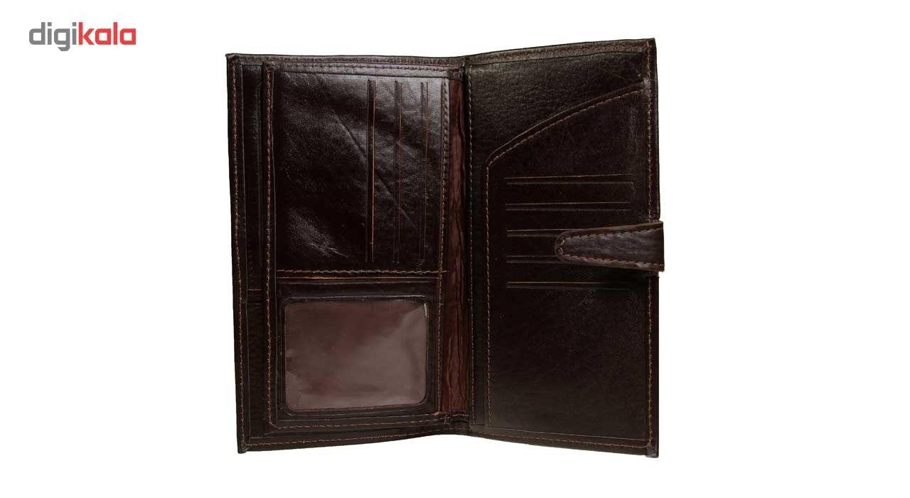 کیف پول چرم طبیعی زانکو چرم مدل مدیرانM2 main 1 8