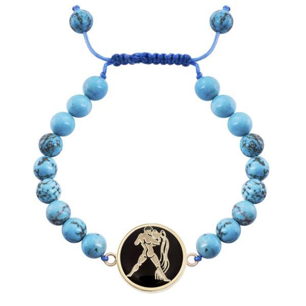 دستبند طلا 18 عیار مرجان مدل0727