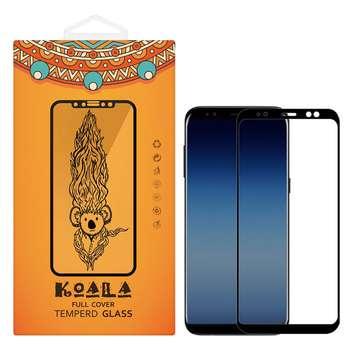 محافظ صفحه نمایش شیشه ای کوالا مدل Full Cover مناسب برای گوشی موبایل سامسونگ Galaxy A8 2018