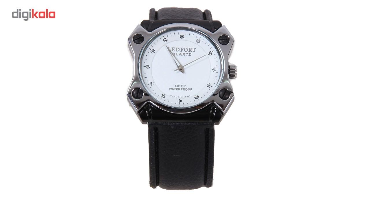 خرید ساعت مچی عقربه ای مردانه لدفورت مدل LB7320