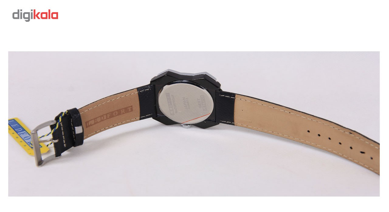 ساعت مچی عقربه ای مردانه لدفورت مدل LB7320