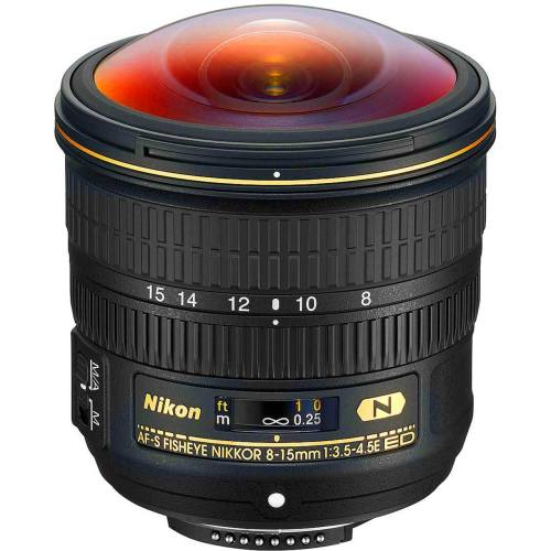 لنز نیکون مدل AF-S NIKKOR 8-15mm f/3.5-4.5E ED Fisheye