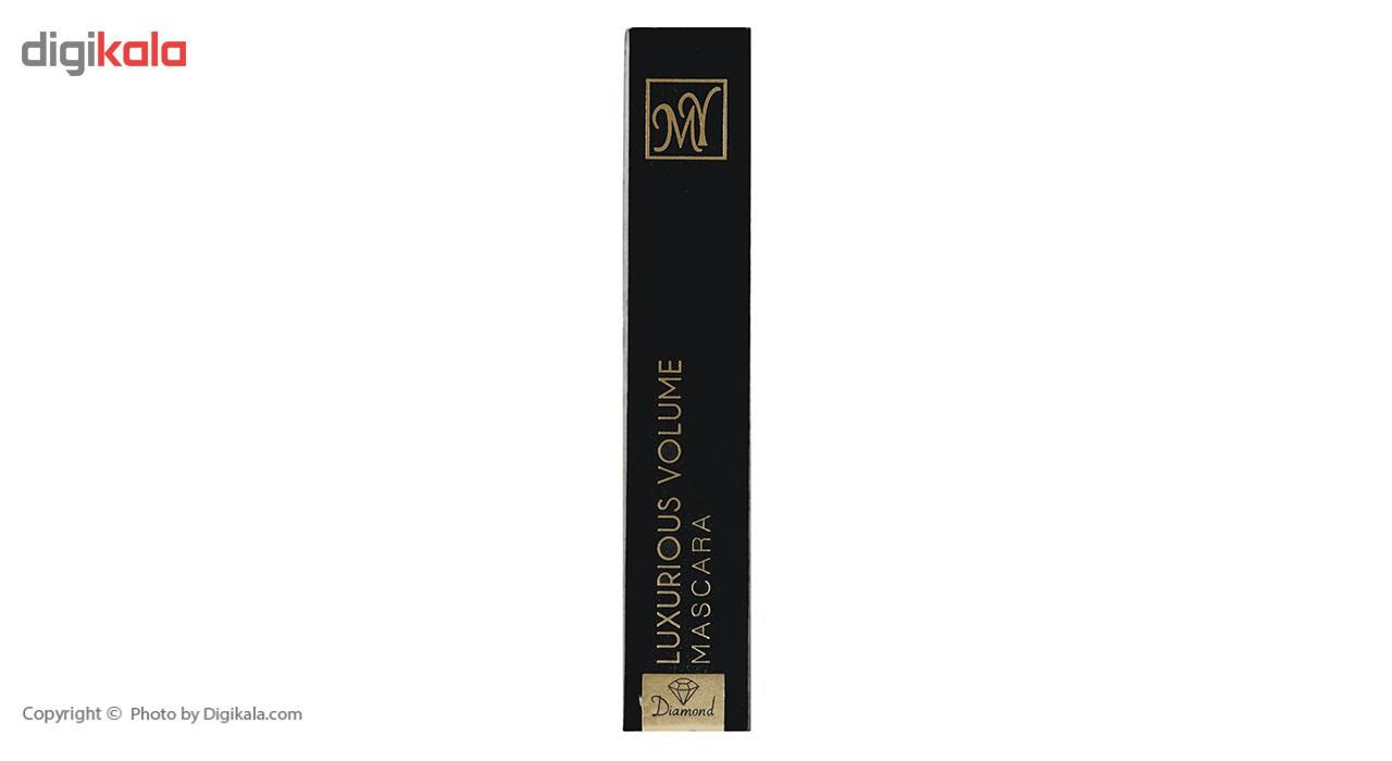 ریمل حجم دهنده مای سری Black Diamond مدل Luxurious main 1 4