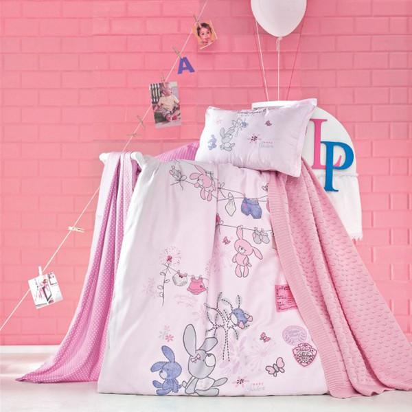 سرویس خواب نوزادی لوکا پاتیسکا مدل Little صورتی 5 تکه