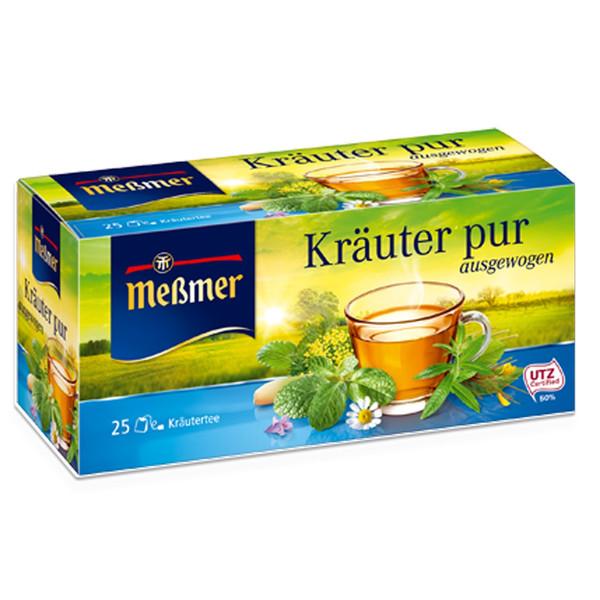 بسته دمنوش گیاهان خالص مسمر مدل Krauter pur