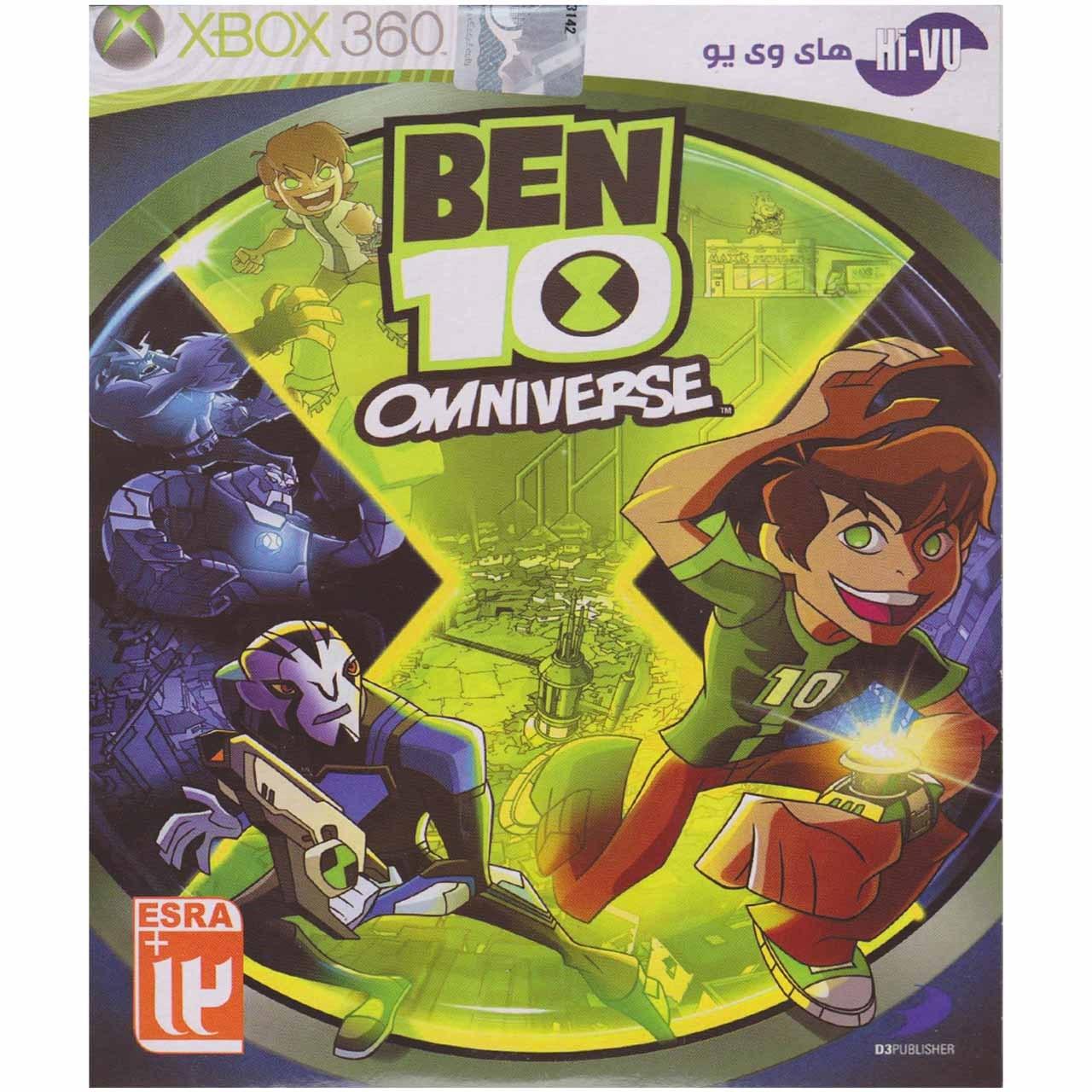 بازی Ben 10 Omniverse  مخصوص ایکس باکس 360
