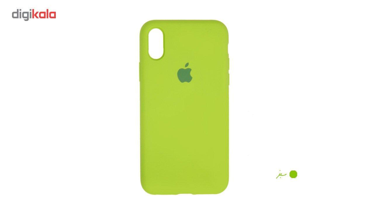 کاور سیلیکونی سومگ مدل 006 مناسب برای گوشی موبایل آیفون 10 main 1 14