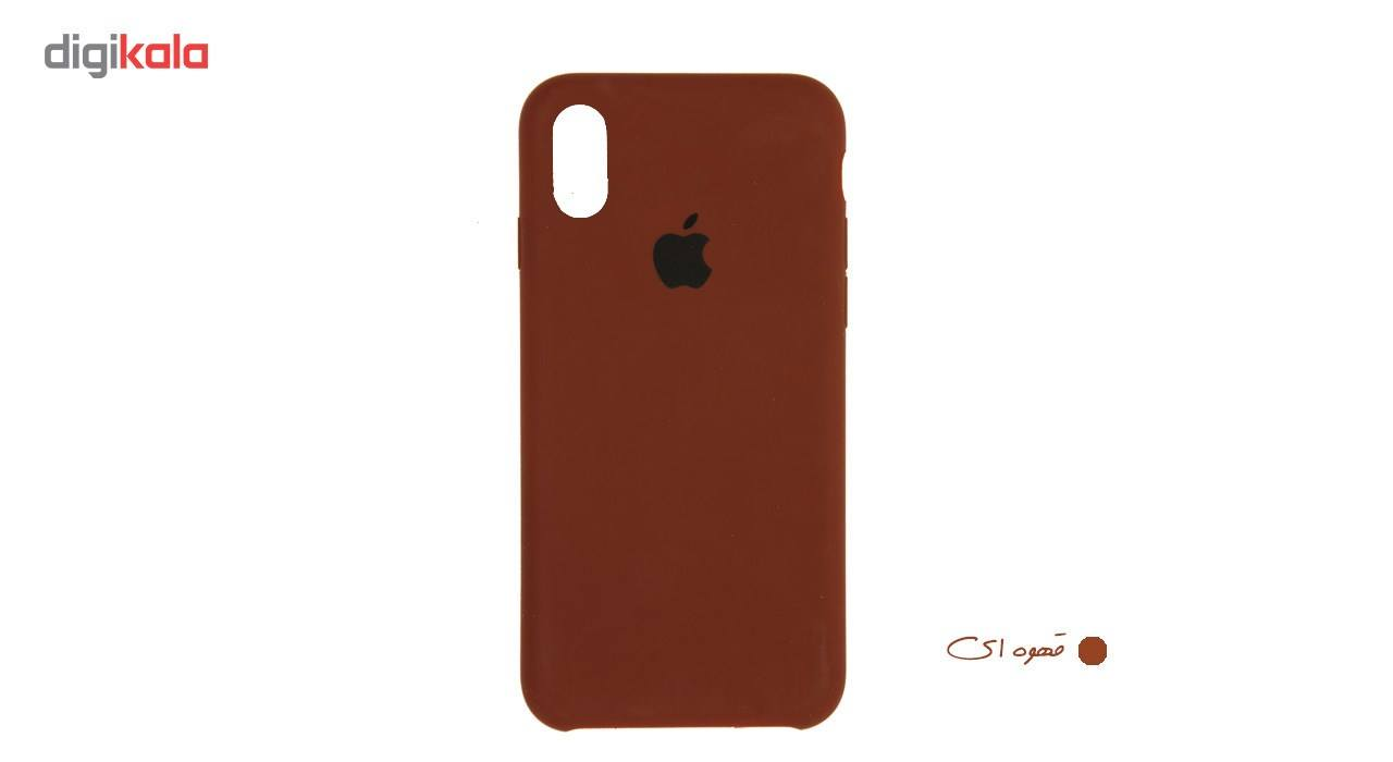 کاور سیلیکونی سومگ مدل 006 مناسب برای گوشی موبایل آیفون 10 main 1 26