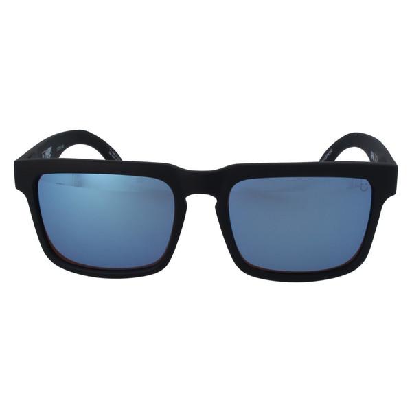 عینک آفتابی اسپای سری Helm مدل Matte Black  Happy Bronze With Light Blue Spectra