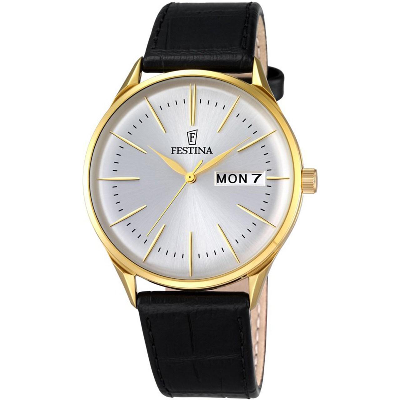 ساعت مچی عقربه ای مردانه فستینا مدل F6838/1 10