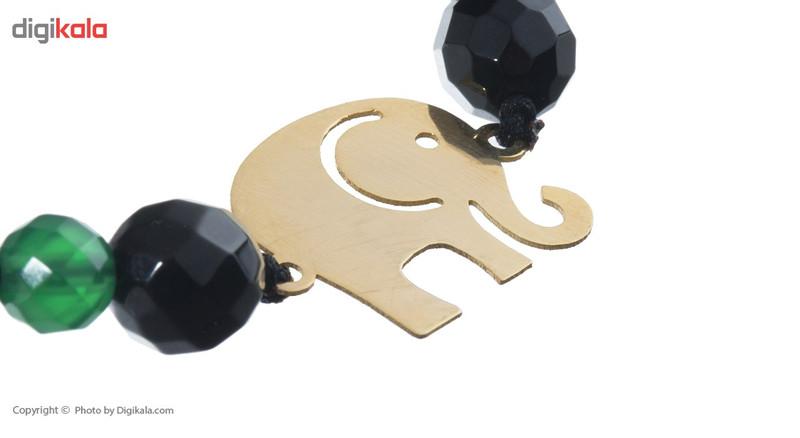 دستبند طلا 18 عیار ماهک مدل MB0618 - مایا ماهک