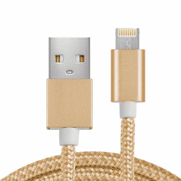 کابل تبدیل USB به Micro USB و Lighting مدل 2In1 به طول 1 متر