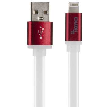 کابل تبدیل USB به Lightning رایکا مدل F73 طول 1 متر