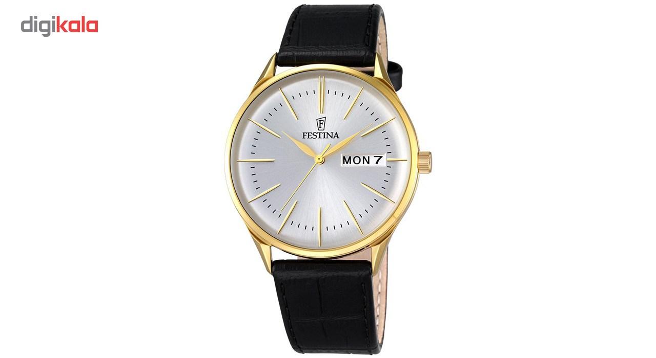 ساعت مچی عقربه ای مردانه فستینا مدل F6838/1