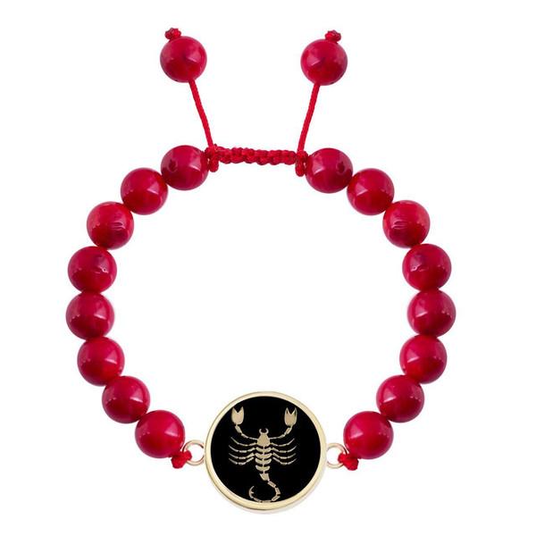 دستبند طلا 18 عیار مرجان مدل0675