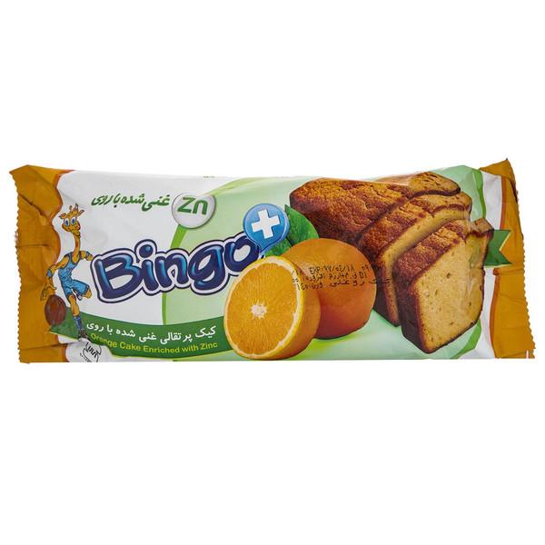 کیک پوند پرتقالی غنی شده با روی بینگو مقدار 140 گرم