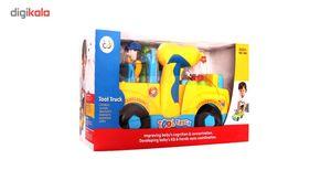 بازی آموزشی ماشین ابزار هولی تویز 789  No 789 Tool car EducationalHuile Toys