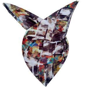 روسری روشا طرح رنگین کمان کد 03