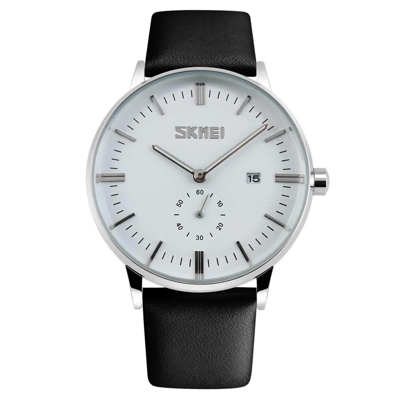 ساعت مچی عقربه ای مردانه اسکمی مدل S9083/White