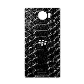 برچسب پوششی ماهوت مدل Snake Leather مناسب برای گوشی  BlackBerry Priv