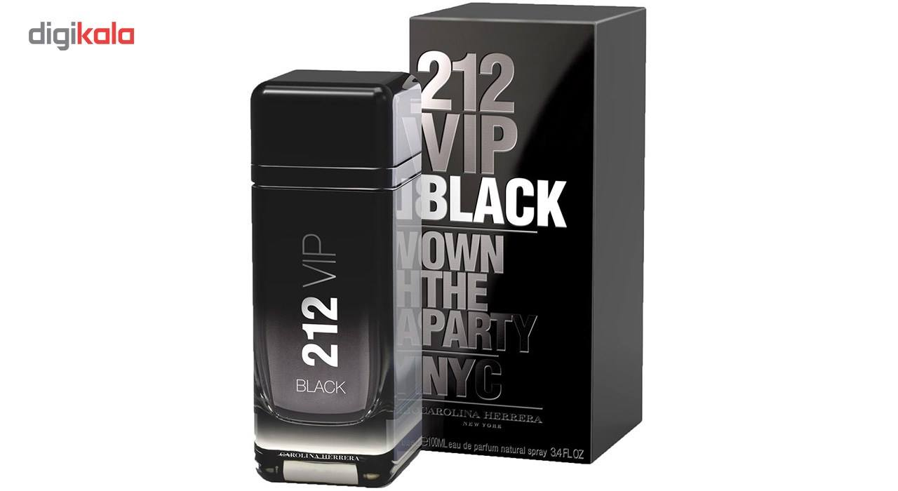 ادو پرفیوم مردانه کارولینا هررا مدل 212VIP Black حجم 100 میلی لیتر main 1 2