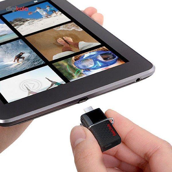 فلش مموری سن دیسک مدل Ultra Dual USB Drive 3.0 ظرفیت 32 گیگابایت main 1 10
