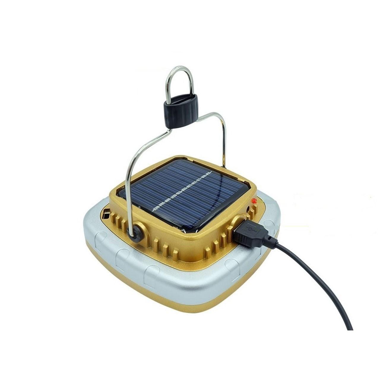 خرید                                     چراغ قوه کمپینگ شارژی مدل خورشیدی