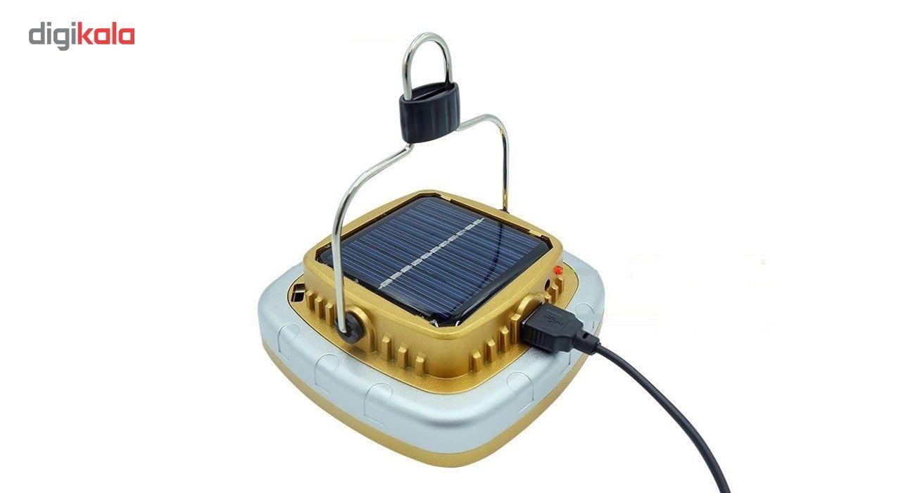 چراغ قوه کمپینگ شارژی مدل خورشیدی main 1 1